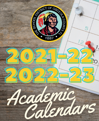 Photos of Osceola School Calendar 2021-2022