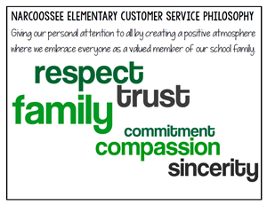 NCES Customer Service Philosophy: Giving our personal attention to all by creating a positive atmosphere & embracing everyone