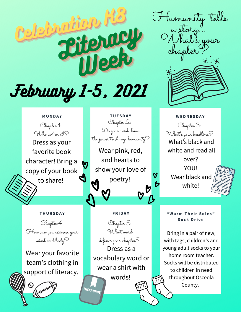 Literacy Week for Celebration
