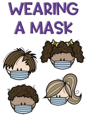 Wearing a Mask Story for Children