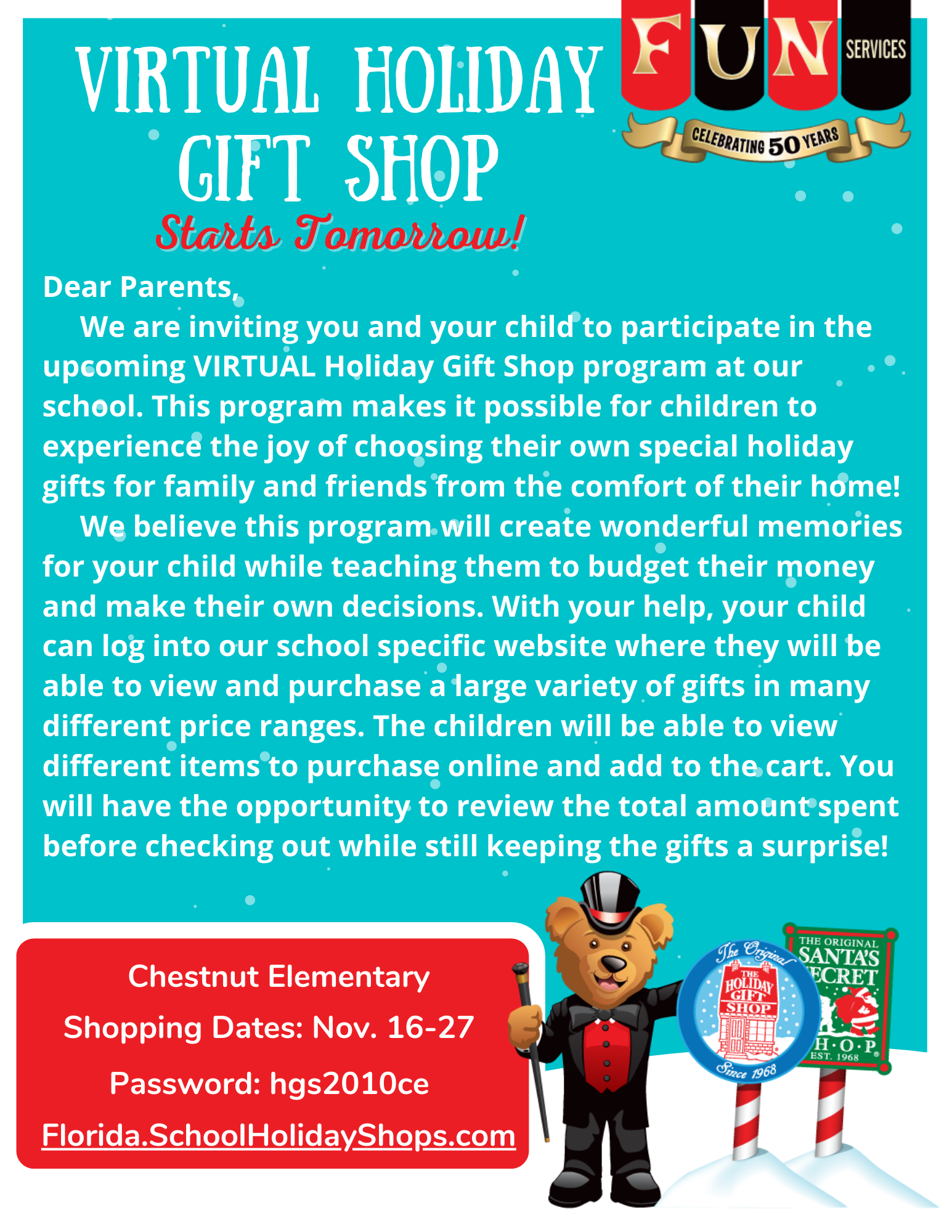 PTO Holiday Shop