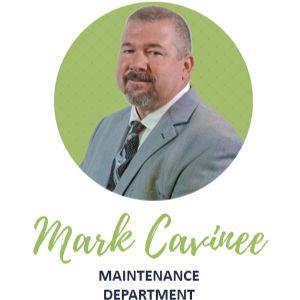 Mark Cavinee Maintenance Dept