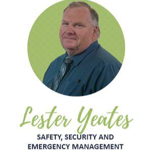 Lester Yeates, Safety Security and Emergency Management