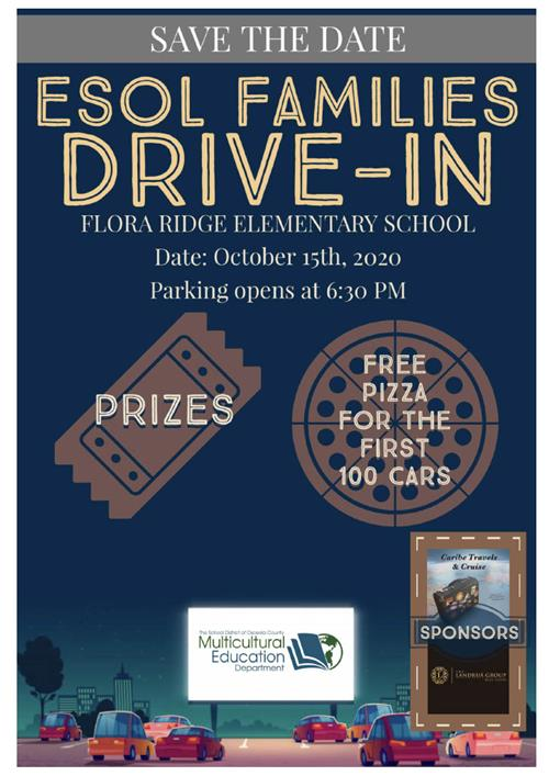 SAVE THE DATE DRIVE SPANISH