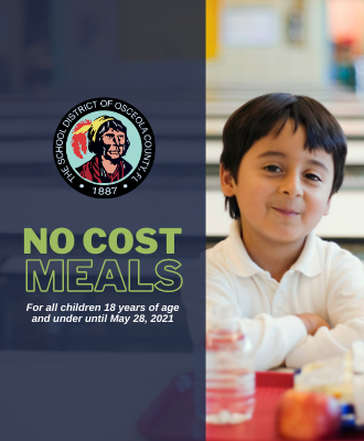 USDA has extended the meal program allowing students to eat for free until May 28, 2021.