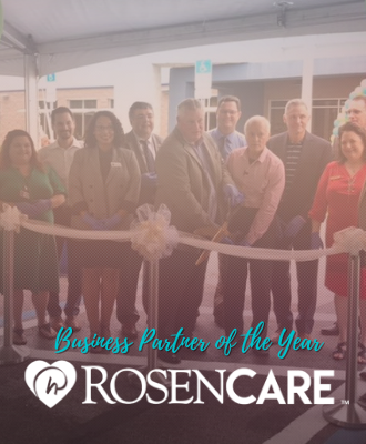 Rosen Care Business Partner of the Year