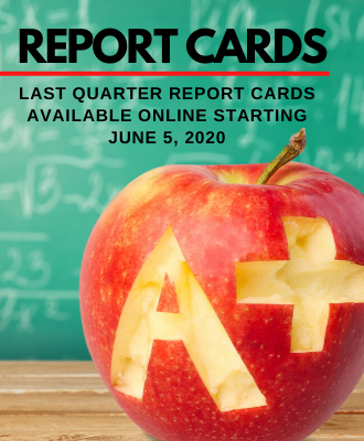 Report Card and A+ Apple