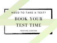 book your test appointment