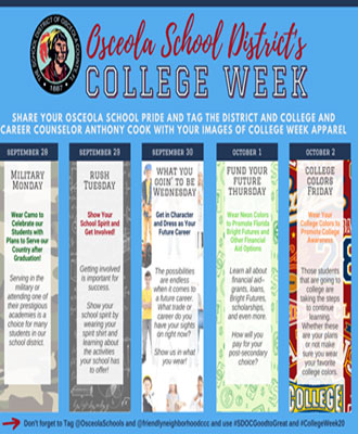 Osceola School District's College Week