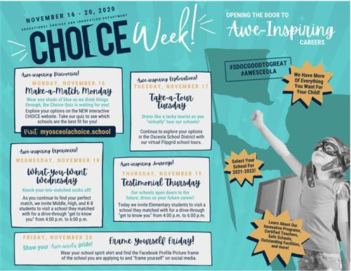 Choice Week 2020