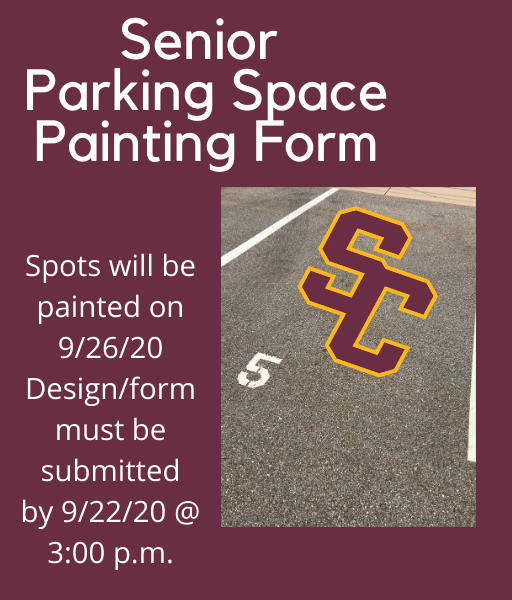 Senior Parking Space Painting Request