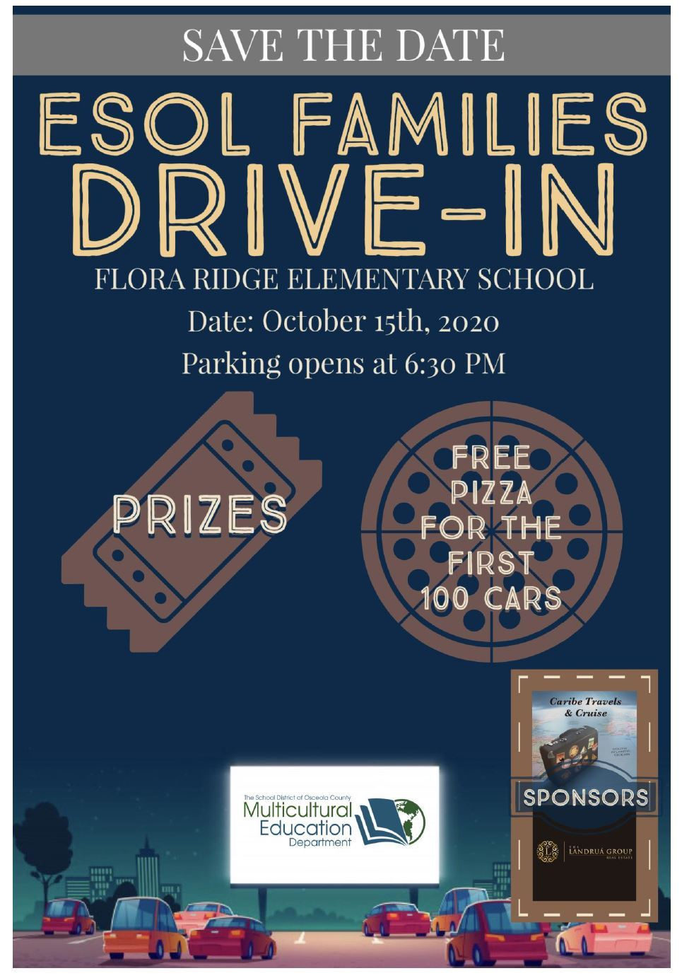 ESOL Families Drive-In