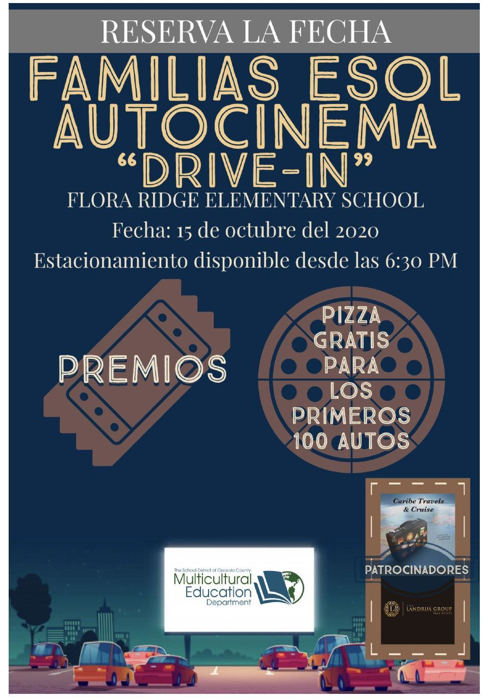 ESOL Families Drive-In SPN