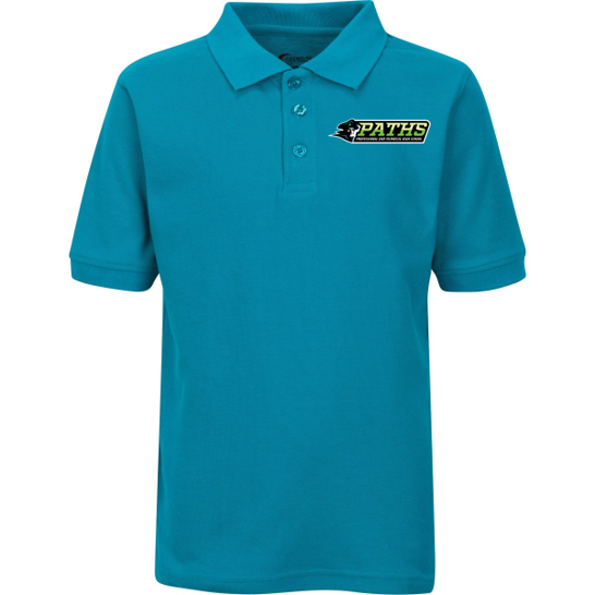 Teal School Polo