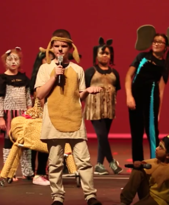Pleasant Hill Elementary Participates in Dr. Phillips Center Disney Musicals in Schools Program