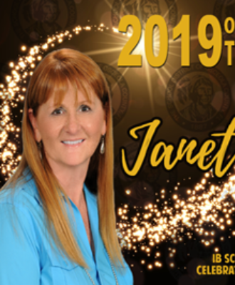 Dr. Janet Bisogno Named Osceola School District's 2019 Teacher of the Year