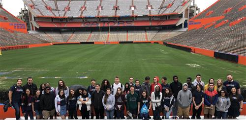 2019 Ascend Field Trip Participants Group at the University of Florida