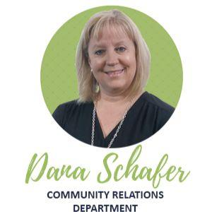 Dana Schafer Community Relations